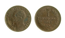 s288_51)  Vittorio Emanuele II (1861-1878)  1 Centesimo Valore 1867 M