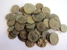 5- ANCIENT DIRTY UNCLEANED ROMAN COINS APROX 150BC-450AD-Fun Hobby