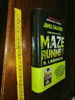 LIBRO: MAZE RUNNER - IL LABIRINTO - James Dashner - Primo libro della saga