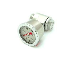 Joker Machine CB750F CB750K Oil Pressure Gauge Assembly - Clear - 12-005S