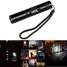 Blacklight 3000LM CREE XM-L T6 LED 18650 Tactical Flashlight Focus Bright Lamp