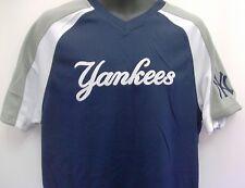 New York Yankees MLB Replica Baseball Blue Jersey Adult Medium Free Shipping