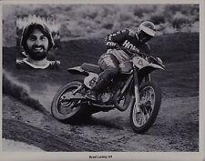1978 BRAD LACKEY HONDA Vintage MOTOCROSS PRINT PHOTO RC250 RC500 CR250R CR125R