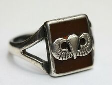 1940s vintage Wwii Silver Army Airborne Sweetheart Ring