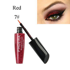 New Sexy Metallic Smoky Eyes Eyeshadow Waterproof Glitter Eyeliner Liquid Makeup
