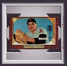 1955 Bowman MIKE GARCIA #128 EXMT *awesome card for your set* M40C