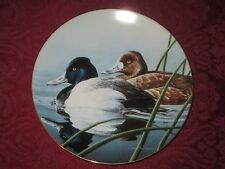LESSER SCAUP collector plate NEAL ANDERSON Bradford Exchange FEDERAL DUCK STAMP