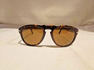 Persol Sunglasses 649 24/57 Havana Brown Polarized Steve McQueen