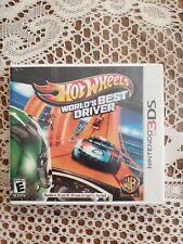 HOT WHEELS WORLD'S BEST DRIVER-: (NINTENDO 3DS) - NEW AND FACTORY SEALED