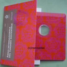 San Marino 2 Euro 2017 Tourismus CoinCard Münzkarte Folder leer empty ohne Münze