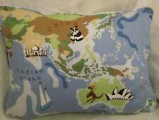 """Animal Carte d' ATLAS PAR Prestigious COUSSIN RECTANGULAIRE 50.8cm x 14 """"( 51 cm"""