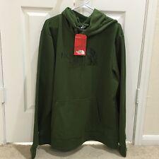 Brand New!! The North Face Men Sneebra Logo Pullover Hoodie XL Scallion Green