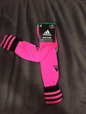 adidas Men's/Women's SOCCER COPA ZONE CUSHION CLIMALITE SOCKS size M pink/black
