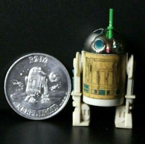 Vintage 1984 Star Wars POTF R2D2 Pop Up Light Sabre Last 17 & Collector Coin