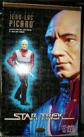 "Star Trek's Captain Jean-Luc Picard 12"" Cold Cast Resin Statue Playmates 1997"