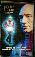 "Star Trek's Captain Jean-Luc Picard 12"" Cold Cast Resin Statue Playmates 1997"