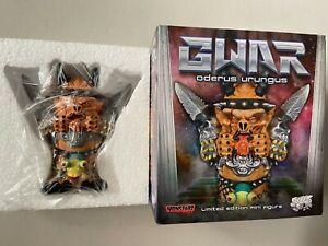 "Monstarz Exclusive GWAR Oderus Urungus 4.5"" Mini Figure Statue Dave Brockie NEW"