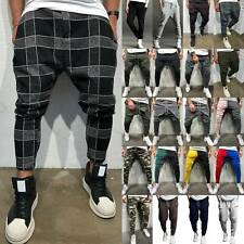 Men Casual Joggers Harem Pants Hip Hop Dance Bottoms Trousers Casual Sweatpants