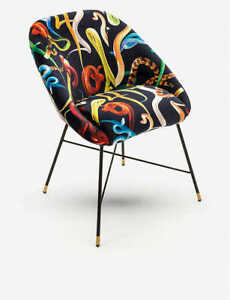 Seletti Velvet Chair