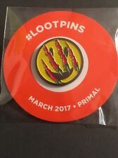 Primal Pin : March 2017 Loot Crate Exclusive