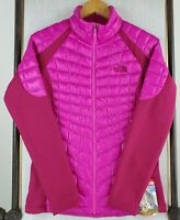 $180 NWT THE NORTH FACE Small Thermoball Hybrid Quilt Insulated Pink Jacket New