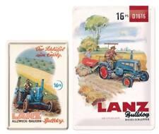Lanz , kleines Fan Paket - Vintage Blechschild + Nostalgie Blechpostkarte