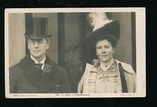 Joseph Chamberlain Posted Collectable Political Postcards