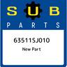 63511SJ010 Subaru Wstr dr f lh 63511SJ010, New Genuine OEM Part