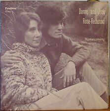 DANNY AND JUDY ROSE-REDWOOD: Homecoming-NM1975LP AUTOGRAPHED FRETLESS RECORDS