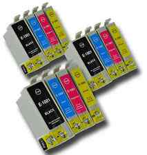 12 T1006 non-OEM Ink Cartridges For Epson Printer T1001-4 Stylus Office BX610FW