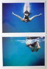 Sebastien Boffredo - Lucie - 2 tirages argentiques couleurs 30x40 - Under Water