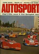 Autosport November 11th 1971 *Kyalami 9 Hours & Interlagos F2 & Jarama 2 Hours*