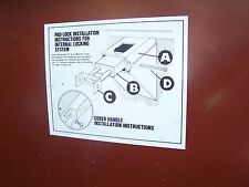 Job Box Gang Box Heavy Duty Locking Toolbox For Work Site Garage