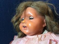 Antique Koenig and Wernicke Miblu celluloid headed doll, Kwg, Celluloid, German