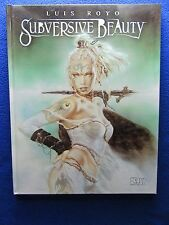 ~~ SUBVERSIVE BEAUTY HARDCOVER BY LUIS ROYO ~NBM 1ST PRINT 2003~ HARD TO FIND! ~