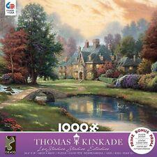 Thomas Kinkade - Lakeside Manor - 1000 Piece Jigsaw Puzzle Brand New 3310-81