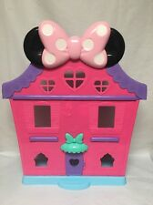 Disney Minnie Mouse Polka Dot House Lights Voice Music Dancing