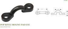 "SEA-LECT DESIGNS Nylon Pad Eye 3/8"" POP Rivet Mount- For Canoe/Kayak/Boat"