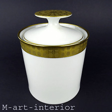 Porcelaine boite design THEO BAUMANN porcelain Caddy by THOMAS rosenthal group 60 s