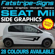 SEAT Mii GRAPHICS STRIPES STICKERS DECALS 1.0 SPORT VINYL CITY CAR