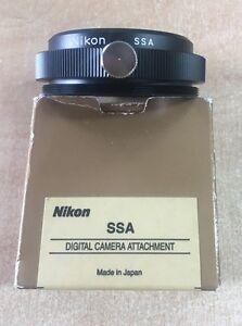 Nikon SSA Digital Camera attachment