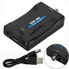 HDMI To BNC Composite Video Signal Converter Adapter for TV VHS Player NTSC/PAL