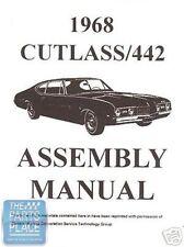 1968-68 Oldsmobile Cutlass Assembly Manual - Each