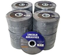 """500 Pc 4-1/2"""" x .040"""" x 7/8"""" Cut off Wheels Stainless Steel Metal Cutting Discs"""