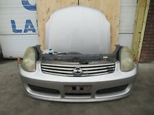 2003-2007 JDM Infiniti G35 Sedan Front End Bumper Lip Headlights Hood G35