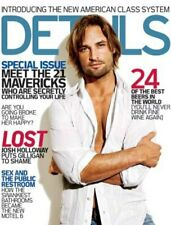 DETAILS - JOSH HOLLOWAY COVER - ABC LOST - COLONY - SAWYER FREE LOST PROMO CARD