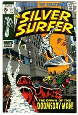 Silver Surfer #13 (1970) Fine+ New Marvel Collection