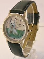 ADEC Wr Kinder Armbanduhr Uhr Quarz mit Hundelogo