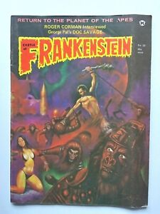 CASTLE OF FRANKENSTEIN 23 (GOTHIC CASTLE) 1974 PLANET OF THE APES EDITION