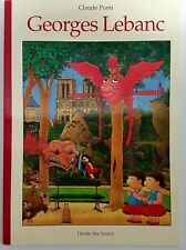 French Book Georges Lebanc by Claude Ponti